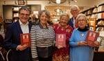 Edwin de Vries, Els Jimkes-Verkade,  Erica Terpstra, Ton Stam en Margriet de Koning Gans.