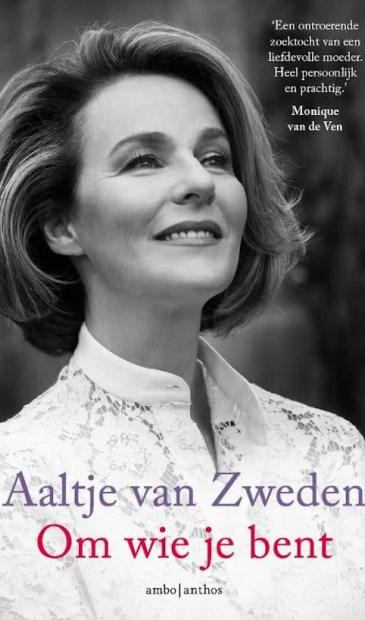 De boekcover van 'Om wie je bent' van Aaltje van Zweden.