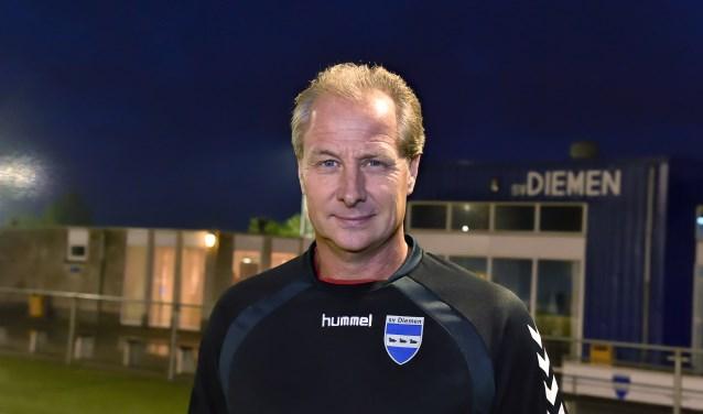 Gerrie Breugem, trainer van SV Diemen.