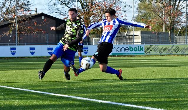 SV Diemen verloor vorige week zondag van SV United DAVO.