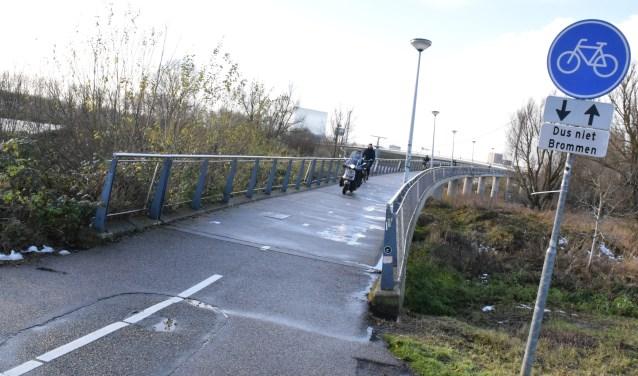 De Nesciobrug staat niety te boek als de meest fietsvriendelijke fietsersbrug.