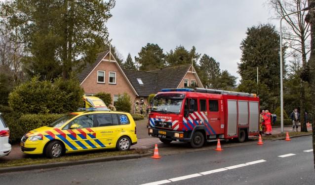 'Man overlijdt bij aankomst van de politie'