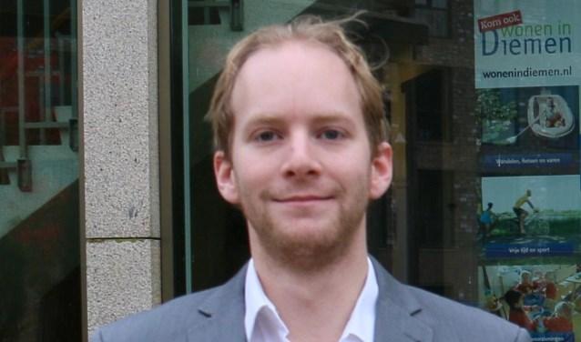 Kai de Haan, fractievoorzitter van D66.
