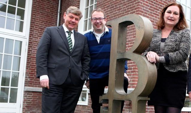 De drie burgemeesters van de BEL-gemeenten.