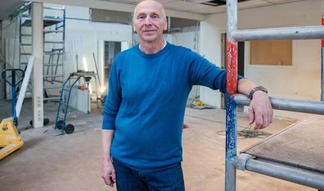 Jan Boonstra van Heelo werkt aan het realiseren van zijn droom. Foto: Bastiaan Miché
