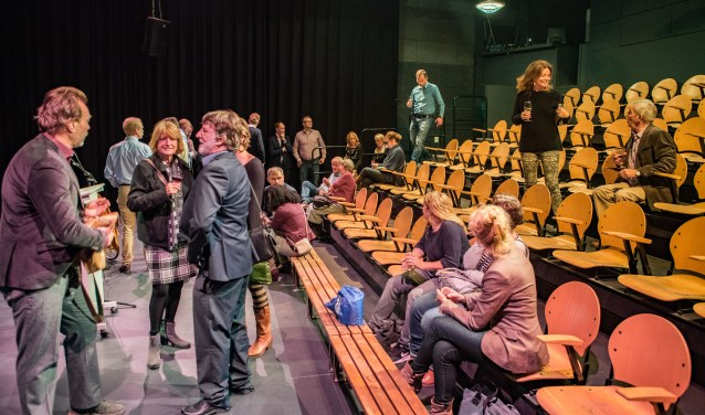 Theater Santbergen is het nieuwe onderkomen van de Fusie. Foto: Bastiaan Miché