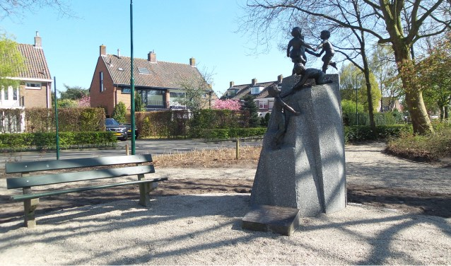 Het monument op het Plantsoen.