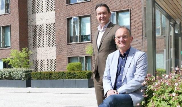Igor Meuwese en Jan-Jaap Bakker van de Regio Gooi en Vechtstreek.