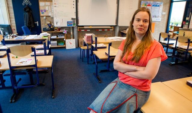 'We leven in een vastlegcultuur', aldus de Hilversumse leerkracht en regiocoördinator Noord-Holland PO in Actie Rosanne Bos.