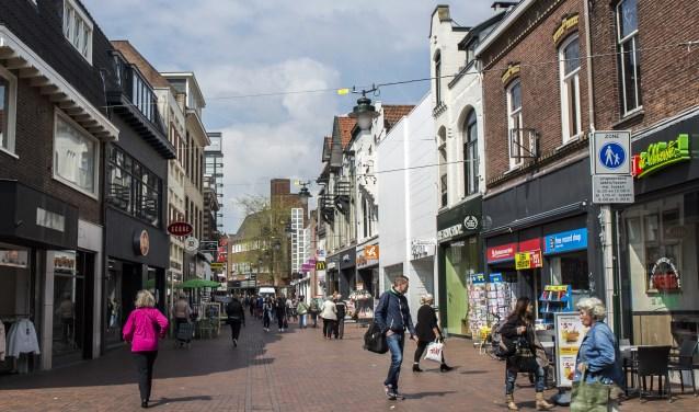 Kerkstraat vanaf de Groest 2015