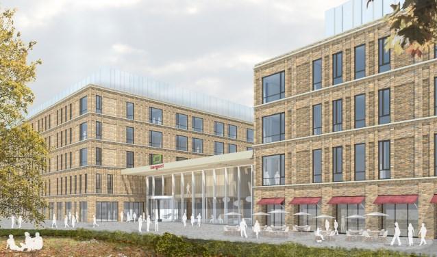 Het nieuwe gebouw in Hilversum.