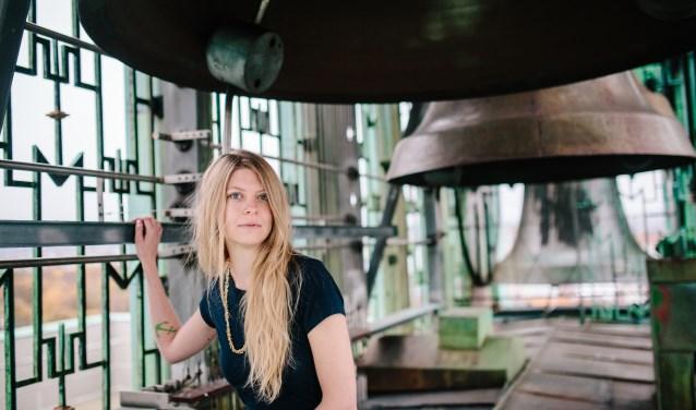 Beiaardier Laura Marie Rueslätten.