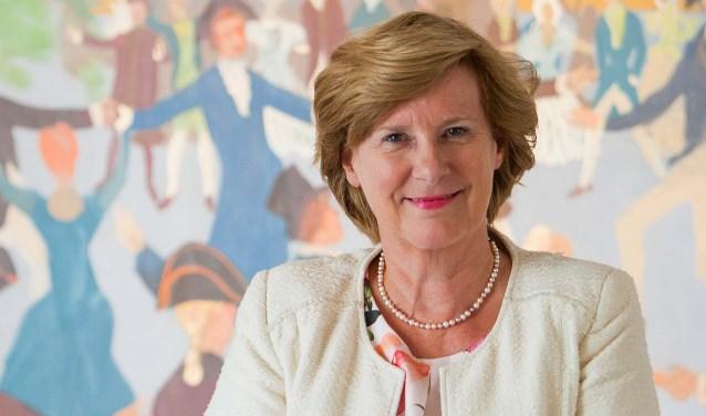 Wethouder Marlous Verbeek trekt straks de kar bij D66 tijdens de gemeenteraadsverkiezingen in 2018.