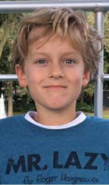 Thommy (11) is weer terecht.