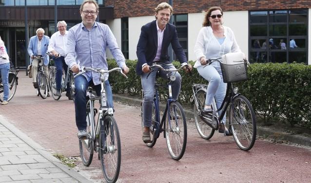 V.l.n.r.: Van Benthem, Smit en De Zwart-Bloch.