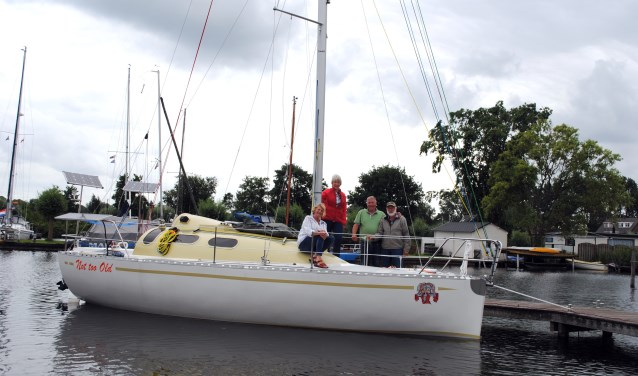 Vanaf links: Cornelia, Lenie, Henk en Paul.