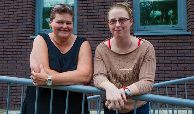 Brianne (rechts) is een inzamelactie begonnen voor Herma.