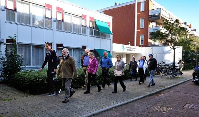 De wandelclub is een van de activiteiten van SWD.