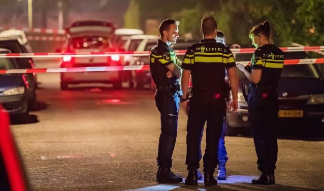 Door politiekogels getroffen man 'buiten levensgevaar'