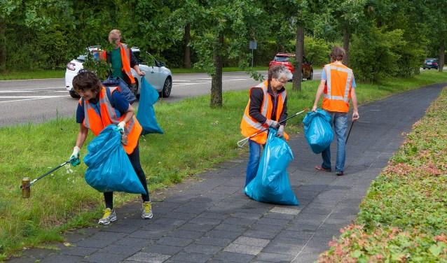 Een keer per maand Troeptrimmen, in Naarden en Bussum.