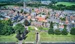 De toegang tot Naarden: de Utrechtse Poort.