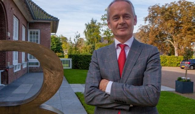 Burgemeester Niek Meijer heeft genoten van de uitwisseling.