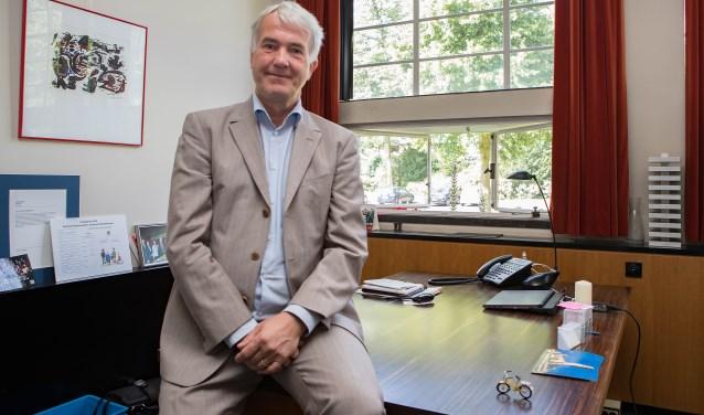 Wethouder Eric van der Want.