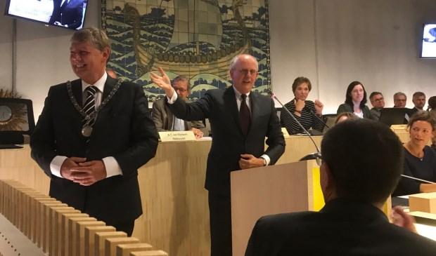 Roest is nu burgervader van Bloemendaal.
