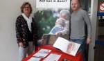 Martijn van Leeuwen en Jolanda Lourens volgden de cursus 'GOED omgaan met dementie'.