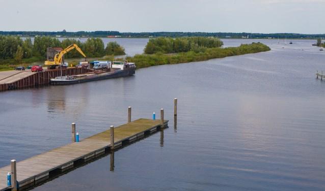 Start er in februari 2018 nu wel of geen veerdienst naar Almere?