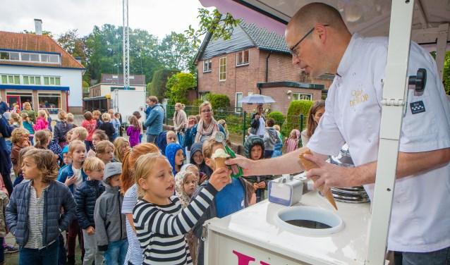 Een ijsje voor elk kind.