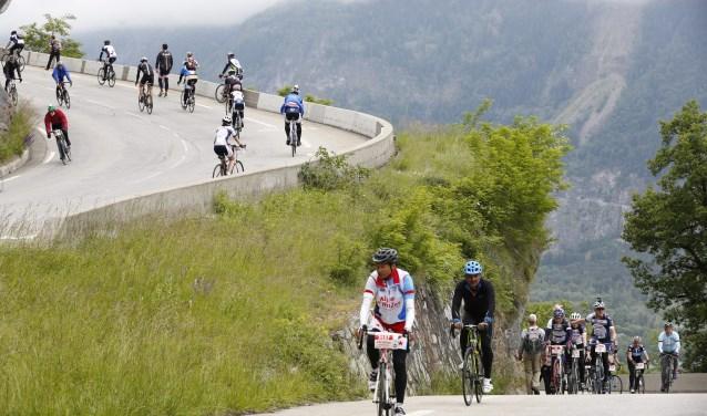 Team UP neemt voor de vierde keer deel aan Alpe d'Huez.