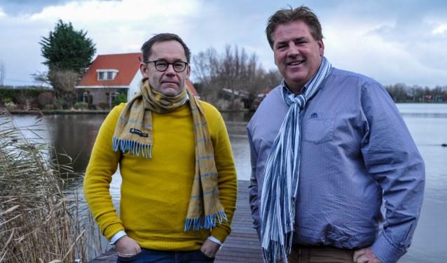 Friso Verhoeve en Gerhard van Galen kochten Golfcentrum Weesp.