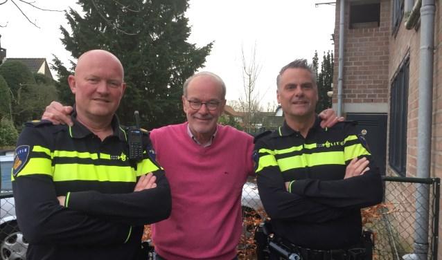 V.l.n.r. Remco Wessels, Rik Kloos en Hans Post.