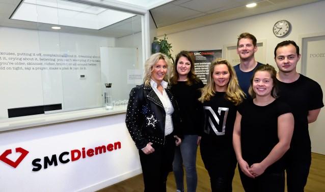 Het team van SMC Diemen.