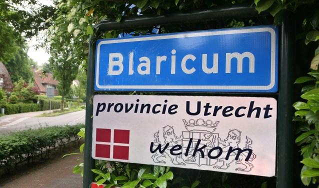 Dan maar naar de provincie Utrecht meent de politieke meerderheid van Blaricum.