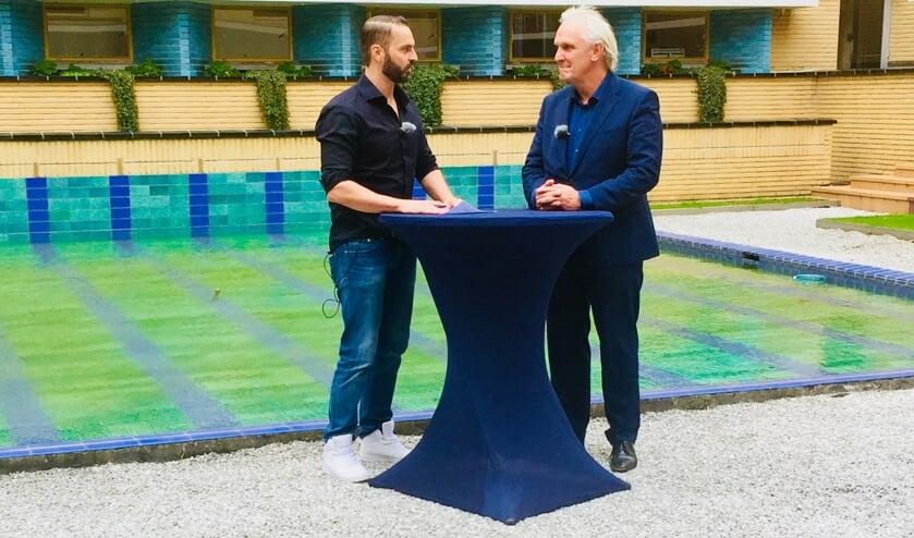 Het gesprek met de burgemeester is een voorbeeld van de samenwerking van Enter Media en GooiTV.