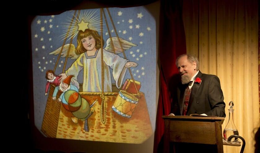 Aad Kok in 'Dickens en de kerstengel'.