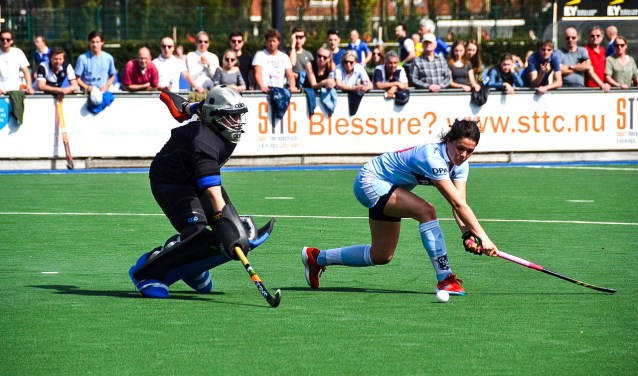 De hockeysters van Gooische speelden afgelopen jaar ook tegen elkaar.