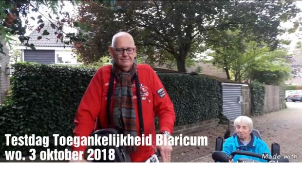 Rob Bruintjes en Bijvanck-bewoonster Wil.