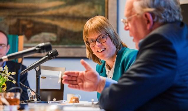 Samen met Karin Walters deed Henk Blok de coalitieonderhandelingen namens Hart voor Hilversum.
