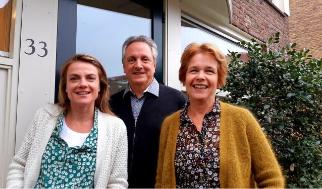 Vanaf links: Indra Wamelink, Ser van Gaalen en Hanneke Lesterhuis.
