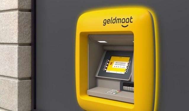Zo gaan de nieuwe geldautomaten eruitzien.