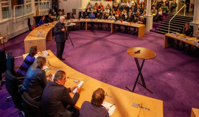 Joop Daalmeijer leidde het raadspodium Kunst en Cultuur.