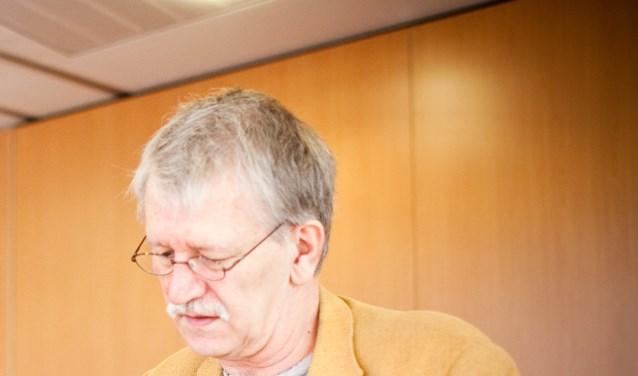 Nico Portegijs, fractievoorzitter van de PvdA.