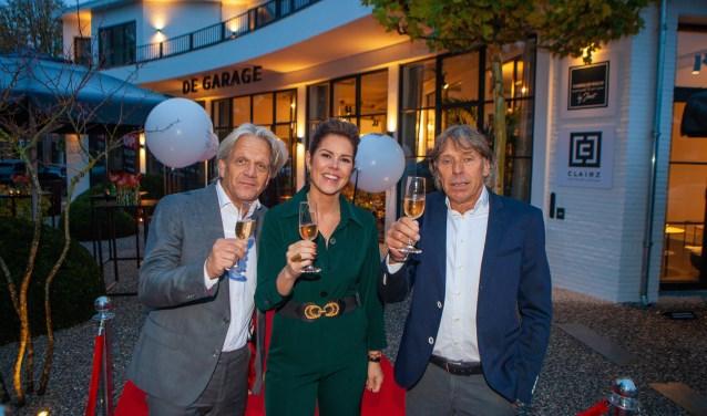 Het team van De Garage. V.l..n.r.: Jacques Walch, Anne-Claire Winkelhagen en Joost Wester.