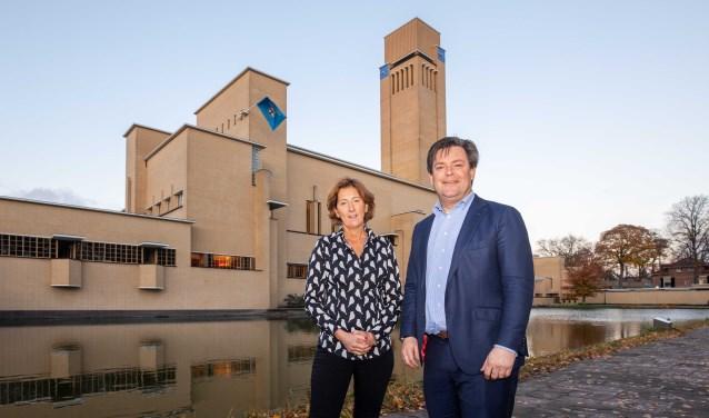 Annette van Trigt en Floris Voorink.