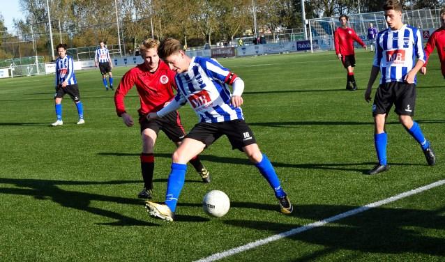 SV Diemen verloor vorige week zondag met 2-3 van De Meer.