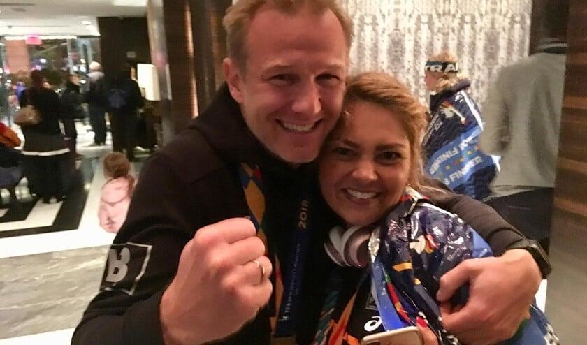Marvin van Rijn en Wendy Timar.