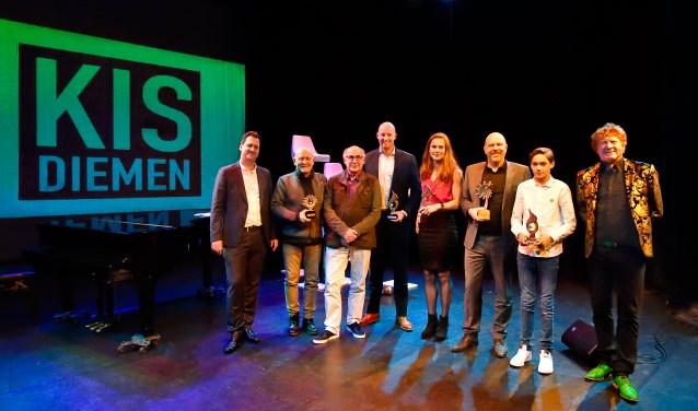 De winnaars van 2017.